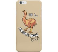 Aepyornis is a Massive Bird. iPhone Case/Skin