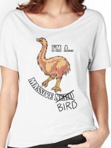 Aepyornis is a Massive Bird. Women's Relaxed Fit T-Shirt