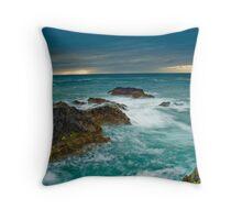 Port Gaverne Outcrop Throw Pillow
