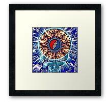 Blue Dream Stealie Framed Print