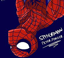 Spiderman - Peter Parker by HuyHTran