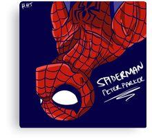 Spiderman - Peter Parker Canvas Print