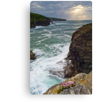 Port Gaverne Outlook Canvas Print