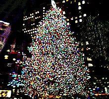 Rockefeller Center Tree by Ellen Turner