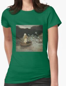 Solo at Dawn Womens Fitted T-Shirt