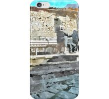 Laureana Cilento: bench with ol women iPhone Case/Skin