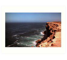 Cliffs of the Nullarbor Art Print