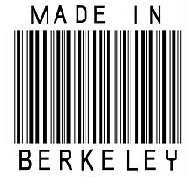 Made in Berkeley Photographic Print