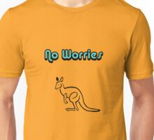 No Worries-Kangaroo Unisex T-Shirt