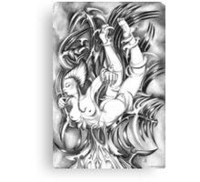 The Dive -  Apparatus Series Canvas Print