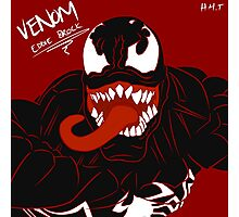 Venom - Eddie Brock Photographic Print
