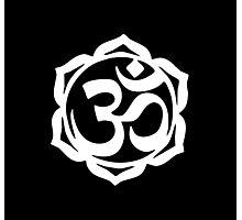 Yogi Lotus Photographic Print
