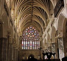 Exeter Cathdral, Devon, England by AncientSnapper