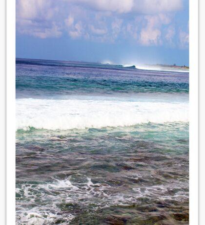 Restless Seas Sticker
