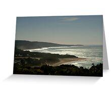 Harsh Light Anglesea,Great Ocean Rd Greeting Card