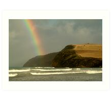 Cape Bridgrewater, Stormy Weather Art Print