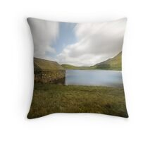 Llyn Cregennen  Throw Pillow