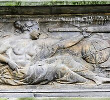 Astronomy. 18th century Science bas relief  by PhotoStock-Isra