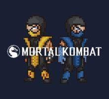Mortal Kombat Pixelized  by BlackHokageBruh