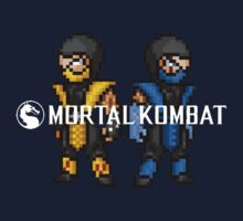 Mortal Kombat Pixelized  by BlackHokageBruh