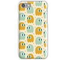 Retro Ghost Pattern iPhone Case/Skin