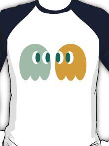 Retro Ghost Pattern T-Shirt