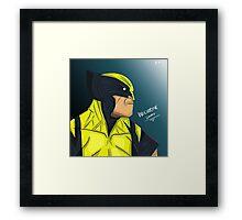 Wolverine - Logan Framed Print