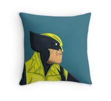 Wolverine - Logan Throw Pillow