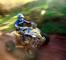 ATV offroad racing by Gaspar Avila