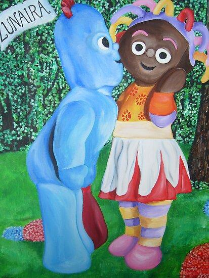 In the Night Garden Commission by Deborah Boyle
