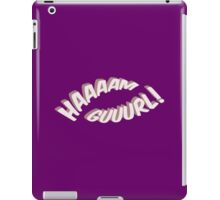 Ham Girl! iPad Case/Skin