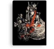 Ode to the devil Canvas Print