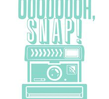 Oh Snap Camera Flash Design by hellosailortees