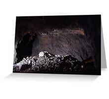 Mining Life. Greeting Card