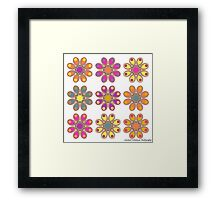 Spring Foot Flowers Framed Print