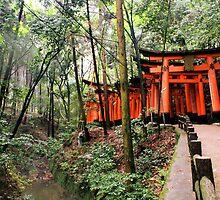 Fushimi Inari, Japan 2008 by Tash  Menon
