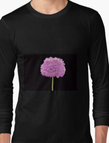 Purple Illiums Long Sleeve T-Shirt