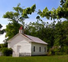 """The Pine Knob Primitive Baptist Church"" by Melinda Stewart Page"