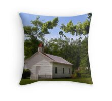 """The Pine Knob Primitive Baptist Church"" Throw Pillow"