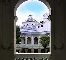 Another Quito Ecuador View II by Al Bourassa