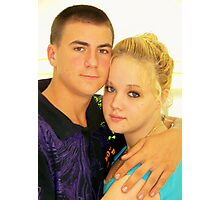Teenage Love Photographic Print