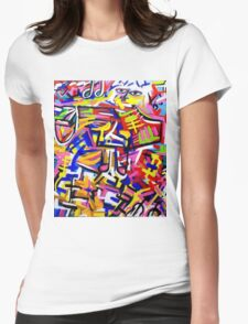 Colour art Womens Fitted T-Shirt