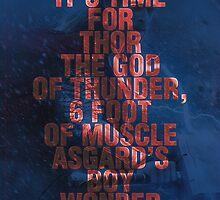 Thor - Typography by The Eighty-Sixth Floor