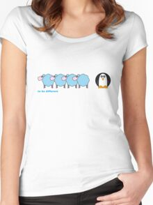 To Be Different Women's Fitted Scoop T-Shirt