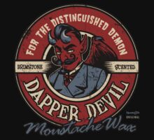 Dapper Devil Moustache Wax by HeartattackJack