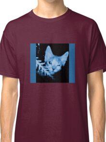 Blue Cat Blue Classic T-Shirt