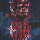 Captain America - Typography by The Eighty-Sixth Floor