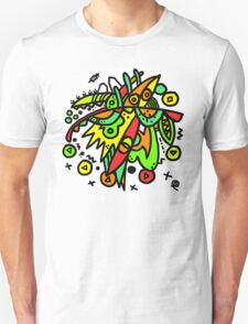 Abstract Drawing Colourful Mess Unisex T-Shirt