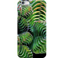 Sacred Geometry Crassula Buddha's Temple Plant iPhone Case/Skin
