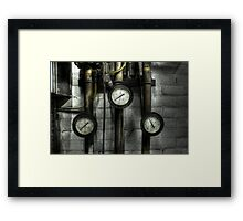 Threesome Framed Print